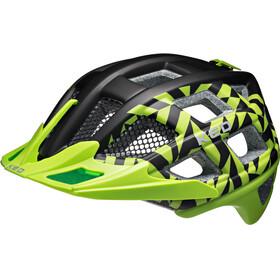KED Crom - Casque de vélo - vert/noir
